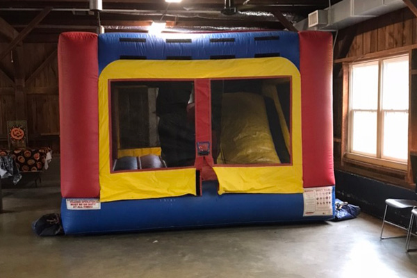 Bounce House with Slide - $250
