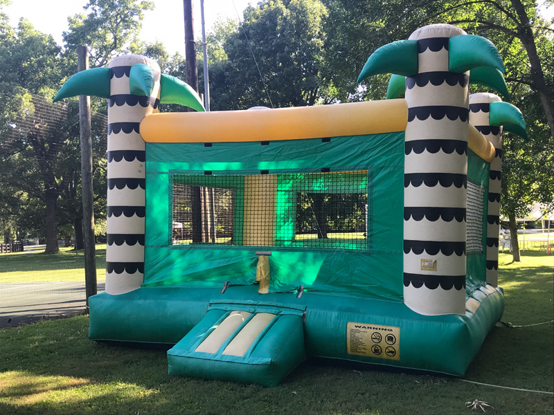 Tropical Basic Bounce House