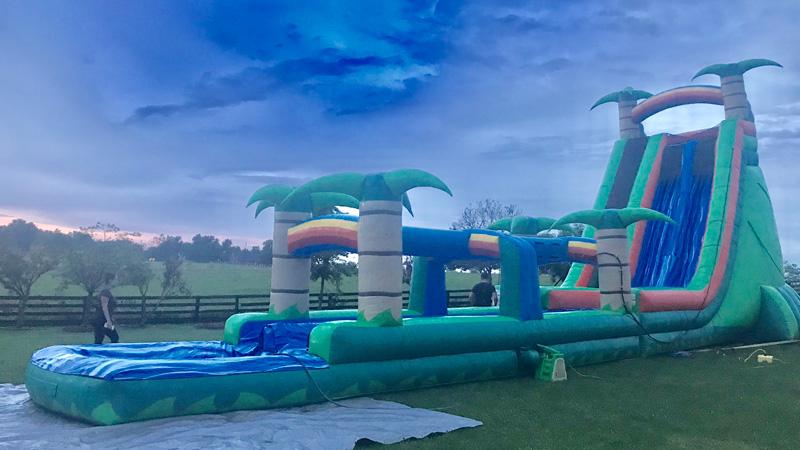 Tropical Slide - Slip - N - Splash